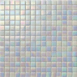 Perle 20x20 Bianco | Mosaici vetro | Mosaico+