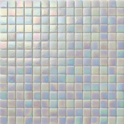 Perle 20x20 Bianco | Glass mosaics | Mosaico+