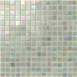Perle 20x20 Platino | Mosaïques verre | Mosaico+
