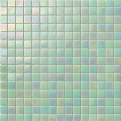 Perle 20x20 The Verde | Glass mosaics | Mosaico+