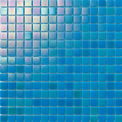 Perle 20x20 Azzurrro | Mosaici | Mosaico+