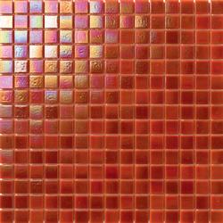 Perle 20x20 Arancione | Mosaïques verre | Mosaico+