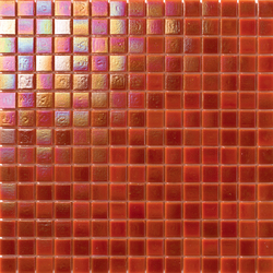 Perle 20x20 Arancione | Mosaici vetro | Mosaico+