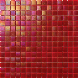 Perle 20x20 Rosso | Mosaici | Mosaico+