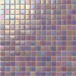 Perle 20x20 Lavanda Grigia | Glass mosaics | Mosaico+