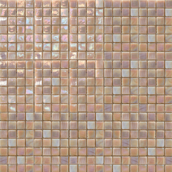 Perle 15x15 Rosa Antico | Glass mosaics | Mosaico+