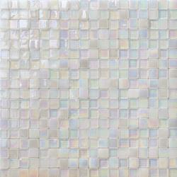 Perle 15x15 Neve | Mosaïques verre | Mosaico+