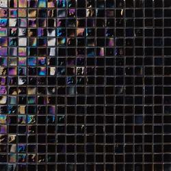 Perle 15x15 Nero | Glass mosaics | Mosaico+