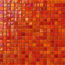 Perle 15x15 Rosso | Mosaici | Mosaico+