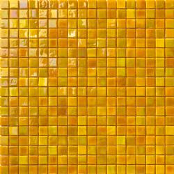 Perle 15x15 Giallo | Mosaïques verre | Mosaico+