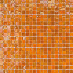 Perle 15x15 Arancio | Mosaïques verre | Mosaico+