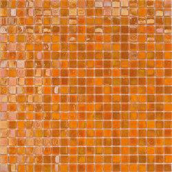 Perle 15x15 Arancio | Glass mosaics | Mosaico+