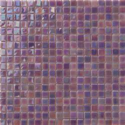Perle 15x15 Lilla | Glass mosaics | Mosaico+