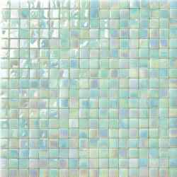 Perle 15x15 Giada | Glass mosaics | Mosaico+