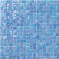 Perle 15x15 Azzurro | Glass mosaics | Mosaico+