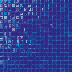 Perle 15x15 Blu | Mosaïques verre | Mosaico+