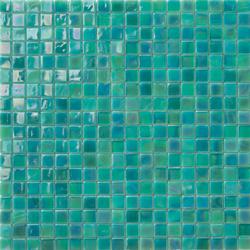 Perle 15x15 Turchese | Glass mosaics | Mosaico+