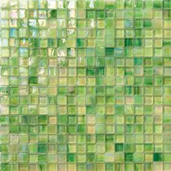 Perle 15x15 Menta | Glass mosaics | Mosaico+
