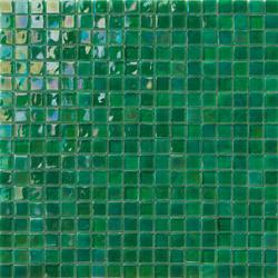 Perle 15x15 Verde | Mosaïques verre | Mosaico+