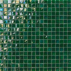 Perle 15x15 Verde S | Mosaïques verre | Mosaico+