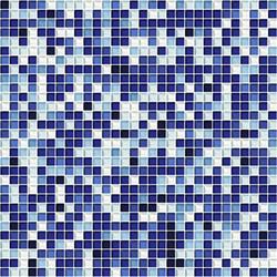 Sfumature 10x10 Zaffiro | Glass mosaics | Mosaico+