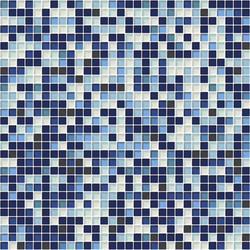 Sfumature 10x10 Cobalto | Glass mosaics | Mosaico+