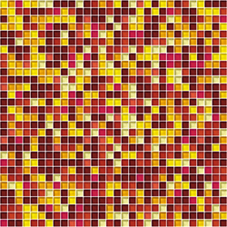 Sfumature 10x10 Sole | Glass mosaics | Mosaico+