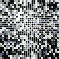 Sfumature 10x10 Acciaio | Mosaïques verre | Mosaico+