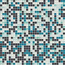 Sfumature 10x10 Smeraldo | Glass mosaics | Mosaico+