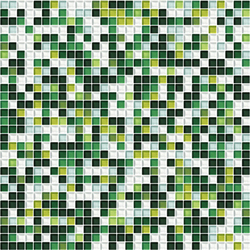 Sfumature 10x10 Muschio | Glass mosaics | Mosaico+