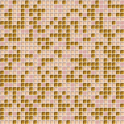 Sfumature 10x10 Rosaoro | Mosaïques verre | Mosaico+