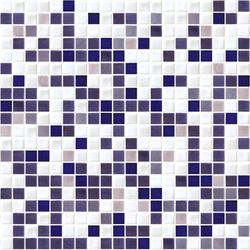 Sfumature 15x15 Malva | Glass mosaics | Mosaico+