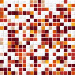 Sfumature 15x15 Zenzero | Mosaïques verre | Mosaico+