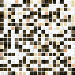 Sfumature 15x15 Sandalo | Glass mosaics | Mosaico+