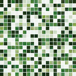 Sfumature 15x15 Greenwood | Glass mosaics | Mosaico+