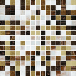 Sfumature 20x20 Fortuna | Glass mosaics | Mosaico+