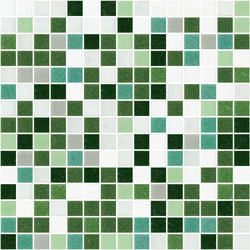 Sfumature 20x20 Flora | Glass mosaics | Mosaico+