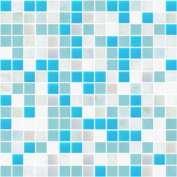 Sfumature 20x20 Apollo | Glass mosaics | Mosaico+