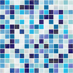 Sfumature 20x20 Giove | Glass mosaics | Mosaico+