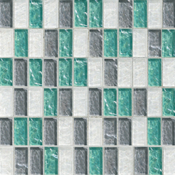 Sfumature 23x48 Mughetto | Glass mosaics | Mosaico+