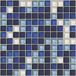 Sfumature 23x23 Scilla | Glass mosaics | Mosaico+