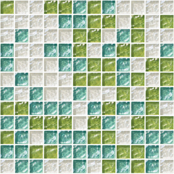 Sfumature 23x23 Mentuccia | Glass mosaics | Mosaico+