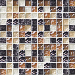 Sfumature 23x23 Caffè | Glass mosaics | Mosaico+