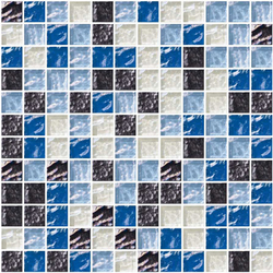 Sfumature 23x23 Ginepro | Glass mosaics | Mosaico+