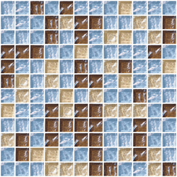 Sfumature 23x23 Olibano | Glass mosaics | Mosaico+