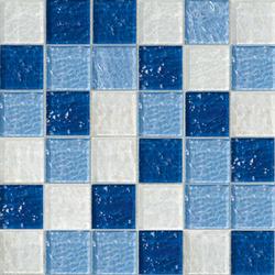 Sfumature 48x48 Anice | Mosaïques en verre | Mosaico+