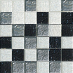 Sfumature 48x48 Liquirizia | Glass mosaics | Mosaico+