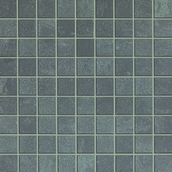Sistem N Neutro Grigio Scuro Mosaico | Mosaïques | Marazzi Group