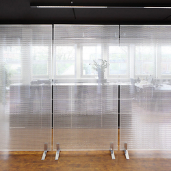 high end space dividers in plastic on architonic