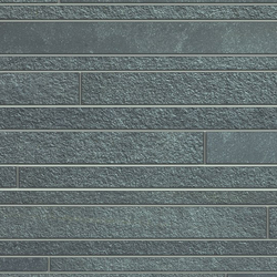 Sistem N Neutro Grigio Scuro Muretto | Ceramic mosaics | Marazzi Group